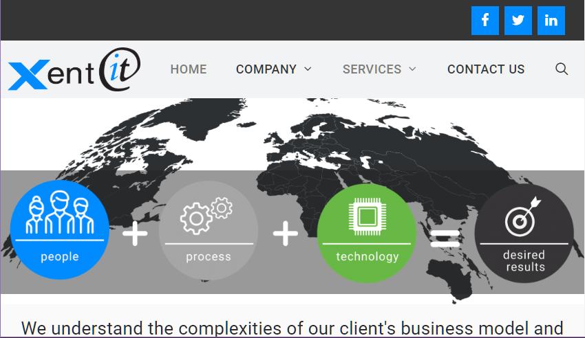 XentIT Website